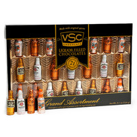 Grand Assortment Chocolate Liquor Bottles: 8.1-Ounce Gift Box