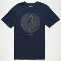 O'neill Collide Mens T-Shirt Navy  In Sizes