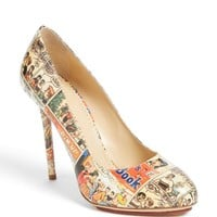Women's Charlotte Olympia 'Jennifer Comic' Pump (Nordstrom Exclusive)