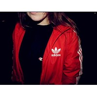 x1love : Adidas Unisex Zipper Fashion Coat Jacket Sweatshirt