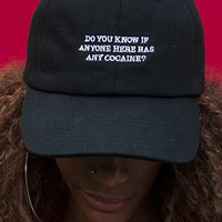 Let's Get Down to Business Embroidered Cap