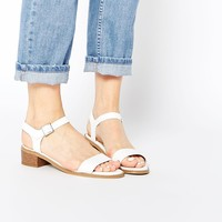 New Look Palm Mid Heeled Sandals