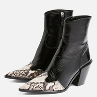 HOWDIE High Ankle Boots | Topshop