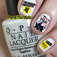 5SOS  She Looks So Perfect Nail Decals