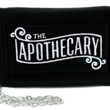 The Apothecary Tri-fold Wallet Occult Old World Cosplay Steampunk