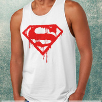 Superman Logo Clothing Tank Top For Mens