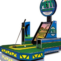 Putt! Championship Edition Miniature Golf Home Arcade Game