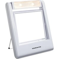 Ovente MLT22W Square Lighted 1x/2x Dual-side Vanity Mirror   Overstock.com Shopping - The Best Deals on Makeup Mirrors