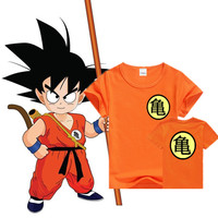 Dragon ball boys & girls clothes cars 2 girls & boys clothing minions kids clothes movie TV Despicable Me short sleeves children