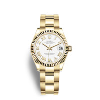 Rolex Datejust 31 Watch: 18 ct yellow gold - 278278