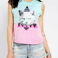 Urban Outfitters - LIFE Kitten Lasers Muscle Tee