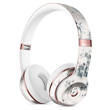 Chipped White Painted Surface Full-Body Skin Kit for the Beats by Dre Solo 3 Wireless Headphones
