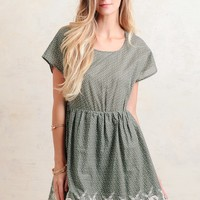 What A Darling Embroidered Dress   Ruche