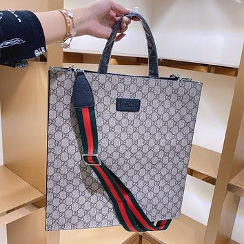 Gucci explosion print multi-purpose shopping bag handbag shoulder bag