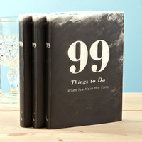 "COMPENDIUM, INC ""99 THINGS TO DO WHEN YOU HAVE THE TIME"" BOOK"