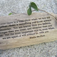 Winnie the Pooh - If ever there is a tomorrow