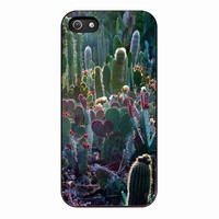 cactus garden for iPhone 5S Case *01*