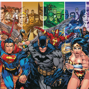 DC Comics Team Poster
