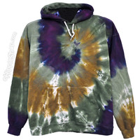 Tie Dye Mystic Spiral Hoodie on Sale for $47.95 at HippieShop.com