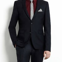 Navy Ultra Skinny Suit - Mens Suits - Suits - TOPMAN USA