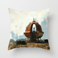 Out of this World Throw Pillow by RDelean