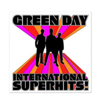 Green Day - International Superhits! Vinyl LP Hot Topic Exclusive
