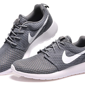 """NIKE"" Trending Fashion Casual Grey Sports Shoes"