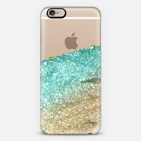 PRETTY COVERED MINT FAUX GOLD by Monika Strigel iPhone 6 case by Monika Strigel | Casetify