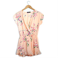 Floral Print Romper from Love Street