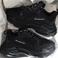 Balenciaga tide brand men and women retro casual wild sports shoes old shoes