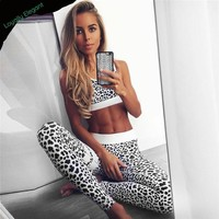 Fitness Leopard 2 Piece Set