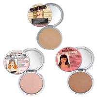 Brand The Balm Makeup Highlight Pressed Powder Foundation Palette Compact Mary-Lou / Betty-Lou / Cindy-Lou Manizer Cosmetic Face