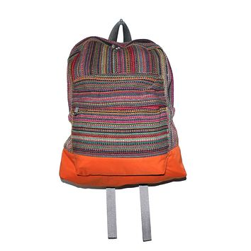Hand-woven backpack from Nepal