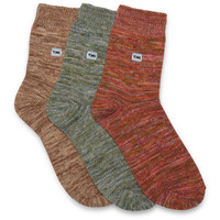 TOMS 3 Pack Yarn Socks