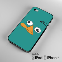 Phineas _ Ferb Perry the Platypus iPhone 4 4S 5 5S 5C 6, iPod Touch 4 5 Cases