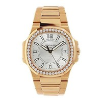 Patek Philippe Nautilus automatic-self-wind female Watch 7010/1R-001 (Certified Pre-owned)