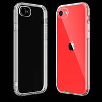 Clear Case for iPhone SE (2nd Generation), iPhone 8 and iPhone 7 Transparent TPU Shock Absorption