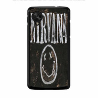 Nirvana Wood Sign Art Nexus 5 Case