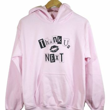 Thank U, Next Graphic Light Pink Hoodie