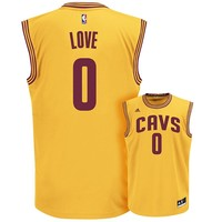 adidas Cleveland Cavaliers Kevin Love Replica Jersey