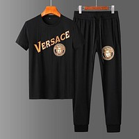 Versace T-shirt Pants Trousers Two Pieces