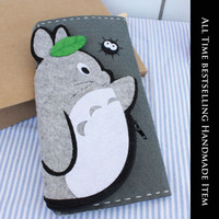 Handmade My Neighbor Totoro Long Wallet [DIY Kit OR Finished Item]
