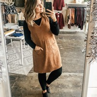 Bethany Corduroy V-Neck Dress