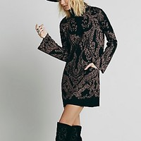 Free People Womens Modern Love Mini Dress