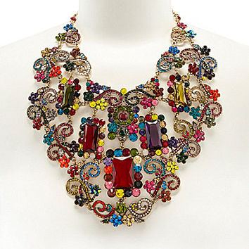 Natasha Sonja Drama Statement Necklace | Dillards.com