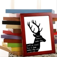 5 Size DIY Wooden Photo Frame Wall Picture Album Wall Frame Picture Photo Frame Wood Crafts Home Decor Gifts SYT9082