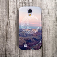 SAMSUNG Galaxy S4 Case Moon Galaxy S5 Case Galaxy S4 Bohemian Case Tribal Case, Phone Cases