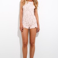 Heartsigh Playsuit Baby Pink