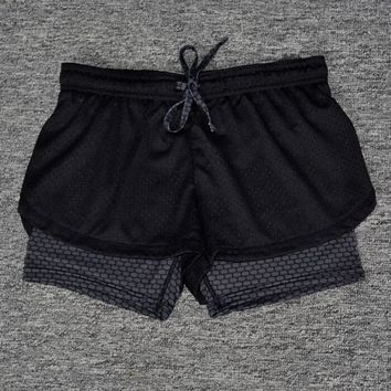 4-M Bicycle shorts Women Sports Gym Workout Waistband Skinny Shorts Pants  Summer Autumn Outdoor Pants Breathable Riding