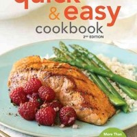 American Heart Association Quick & Easy Cookbook: More Than 200 Healthy Recipes You Can Make in Minutes (American Heart Association)